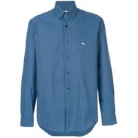 Etro Camisa Slim - Azul