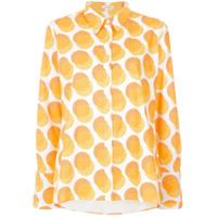 A.brand Camisa Bolas Afro - Amarelo E Laranja