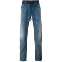 Diesel Calça Jeans Reta - Azul