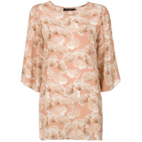 Andrea Marques Blusa Estampada - Pink & Purple