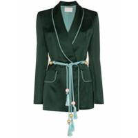 Peter Pilotto Blazer Com Cinto - Green