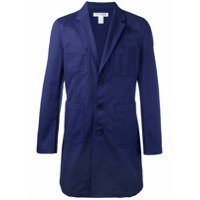 Comme Des Garçons Shirt Boys Blazer Longo - Azul
