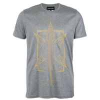 Emporio Armani Camiseta Com Estampa - Unavailable