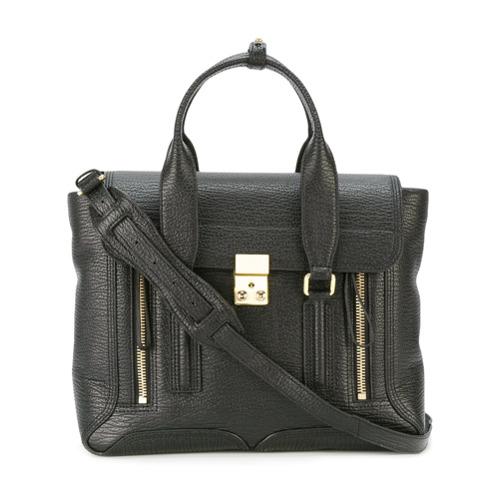 Imagem de 3.1 Phillip Lim Bolsa satchel de couro 'Pashli' - Preto