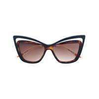 Christian Roth Eyewear Óculos De Sol 'rock N' Roth' - Preto