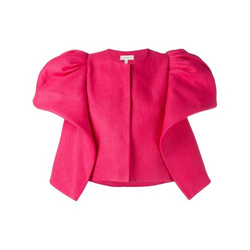 delpozo-casaco-com-mangas-amplas-pink-purple