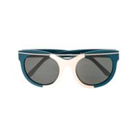 Linda Farrow Óculos De Sol 'suno 1' - Azul