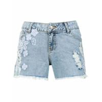 Cecilia Prado Short Jeans - Azul