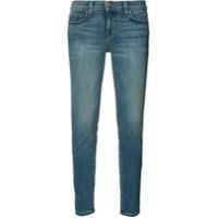 Current/elliott Calça Jeans Cropped Super Skinny - Azul