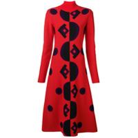 Marni Vestido Midi - Vermelho