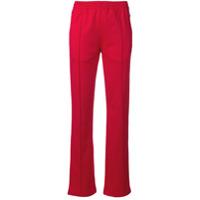 Calvin Klein Jeans Calça Esportiva Com Lista Lateral - Vermelho