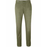 Current/elliott Calça Jeans Cropped - Green