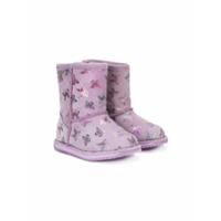 Emu Kids Ankle Boot Estampada - Pink & Purple