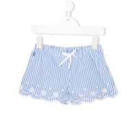 Ralph Lauren Kids Short Listrado - Azul