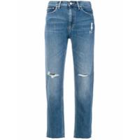 Carhartt Calça Jeans Cropped - Azul