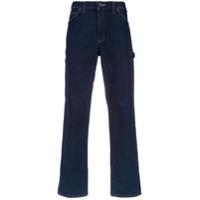 À La Garçonne Calça Jeans Reta - Azul