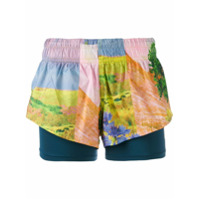 Adidas By Stella Mccartney Short Floral - Estampado