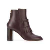 Antonio Barbato Ankle Boot De Couro - Brown