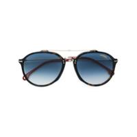 Carrera Óculos De Sol Aviador - Marrom