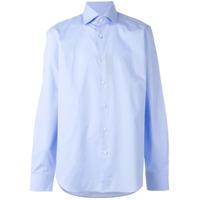 Boss Hugo Boss Camisa Com Botões - Azul
