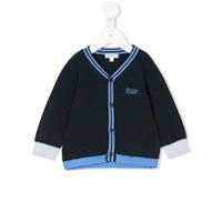 Boss Kids Cardigã - Azul