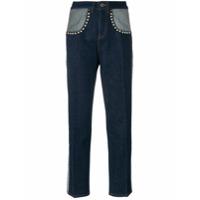 Tommy Hilfiger Calça Jeans Com Tachas 'tommy X Gigi' - Azul