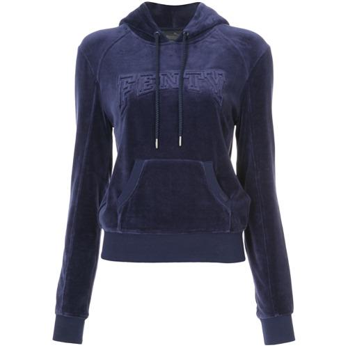 Fenty X Puma Suéter com capuz - Azul
