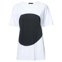 Bassike Camiseta Com Estampa - Branco