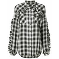 Forte Dei Marmi Couture Camisa Xadrez - Preto