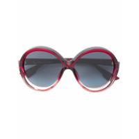 Dior Eyewear Óculos De Sol 'bianca' - Vermelho