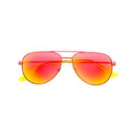 Saint Laurent Eyewear Óculos De Sol 'classic 11 Surf' - Vermelho