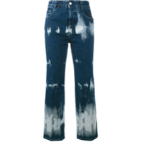 Stella Mccartney Calça Jeans Cropped - Azul