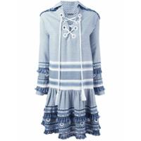 Dodo Bar Or Vestido Com Padronagem - Azul