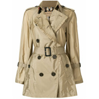 Burberry Trench Coat 'ombersley' - Nude & Neutrals