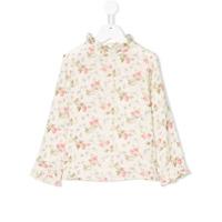 Bonpoint Blusa Floral - Neutro