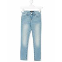 Ralph Lauren Kids Calça Jeans Skinny - Azul