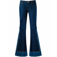 Amapô Calça Jeans 'nesga' - Azul