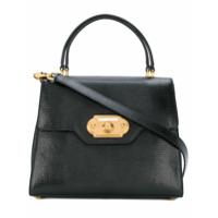 Dolce & Gabbana Bolsa Tote 'welcome' De Couro - Preto