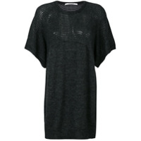 Chalayan Camiseta De Tricô - Grey