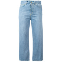 Dondup Calça Jeans Cropped 'shocking' - Azul