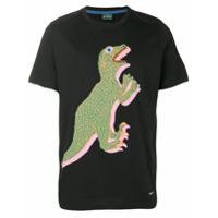 Ps By Paul Smith Camiseta Mangas Curtas 'dinosaur' - Preto