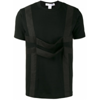 Comme Des Garçons Shirt Camiseta Com Detalhe De Tiras - Preto