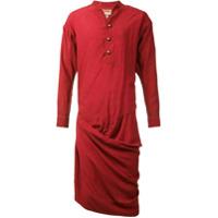 Andreas Kronthaler For Vivienne Westwood Camisa Mangas Longas - Vermelho