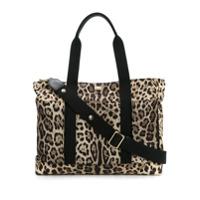 Dolce & Gabbana Bolsa Maternidade Animal Print - Nude & Neutrals