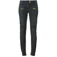 Balmain Calça Jeans Skinny - Cinza