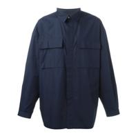 E. Tautz Camisa Com Bolsos - Azul
