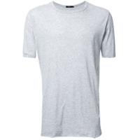 Bassike Camiseta Mangas Curtas - Grey