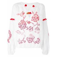 Forte Dei Marmi Couture Blusa Com Padronagem Floral - Branco