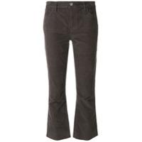 Current/elliott Calça Jeans Flare Cropped - Preto
