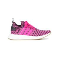 Adidas Tênis 'nmd_R2 Primeknit' - Pink & Purple